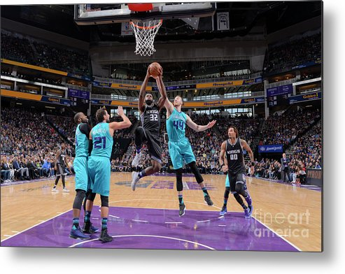 Nba Pro Basketball Metal Print featuring the photograph Tyreke Evans by Rocky Widner