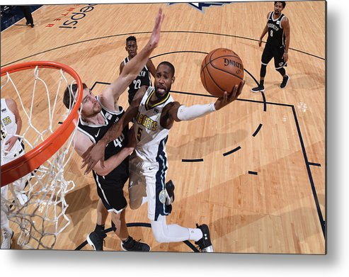 Nba Pro Basketball Metal Print featuring the photograph Will Barton by Garrett Ellwood
