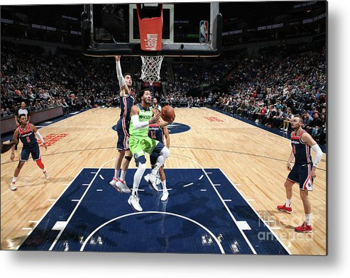 Nba Pro Basketball Metal Print featuring the photograph Derrick Rose by David Sherman
