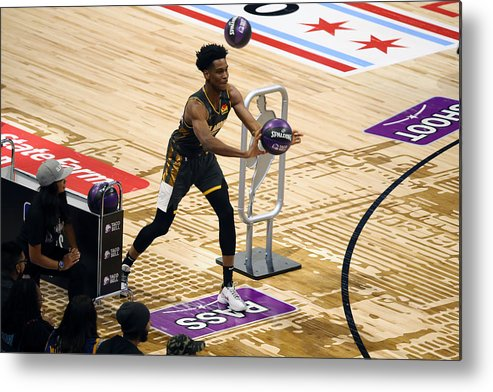 Nba Pro Basketball Metal Print featuring the photograph 2020 NBA All-Star - Taco Bell Skills Challenge by David Sherman