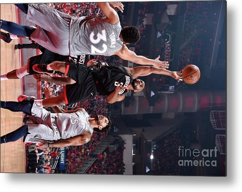 Playoffs Metal Print featuring the photograph Chris Paul by Bill Baptist