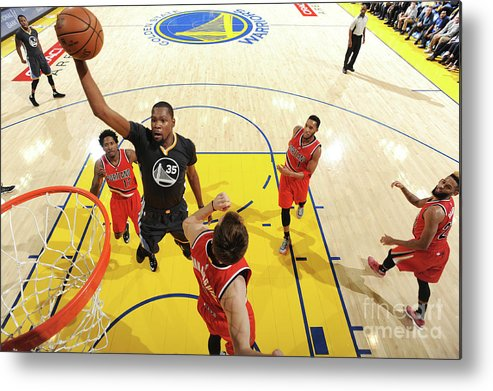 Nba Pro Basketball Metal Print featuring the photograph Kevin Durant by Andrew D. Bernstein