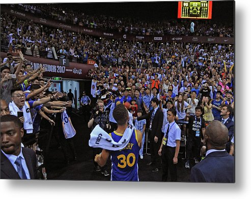Event Metal Print featuring the photograph Stephen Curry by Noah Graham