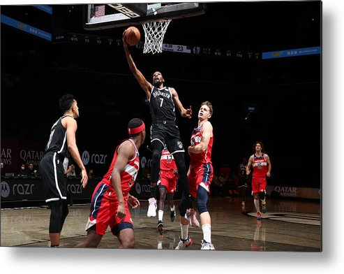 Nba Pro Basketball Metal Print featuring the photograph Kevin Durant by Nathaniel S. Butler
