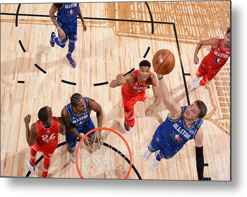 Nba Pro Basketball Metal Print featuring the photograph 69th NBA All-Star Game by Jesse D. Garrabrant