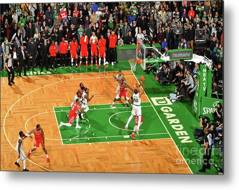 Nba Pro Basketball Metal Print featuring the photograph Al Horford by Jesse D. Garrabrant