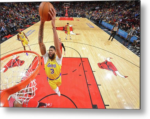 Nba Pro Basketball Metal Print featuring the photograph Anthony Davis by Jesse D. Garrabrant