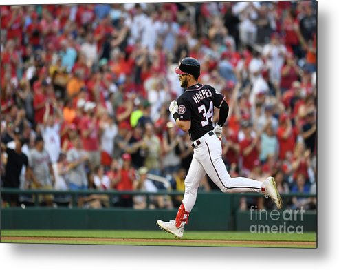 People Metal Print featuring the photograph Bryce Harper by Patrick Mcdermott