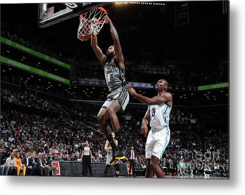 Nba Pro Basketball Metal Print featuring the photograph Deandre Jordan by Nathaniel S. Butler