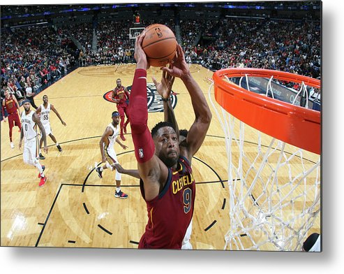 Smoothie King Center Metal Print featuring the photograph Dwyane Wade by Layne Murdoch