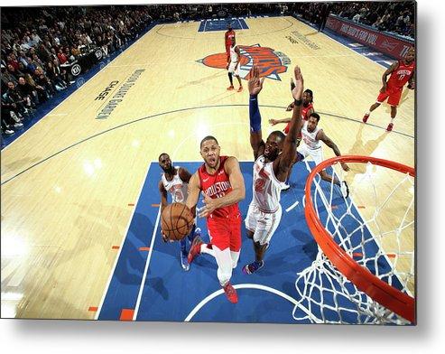 Nba Pro Basketball Metal Print featuring the photograph Eric Gordon by Nathaniel S. Butler