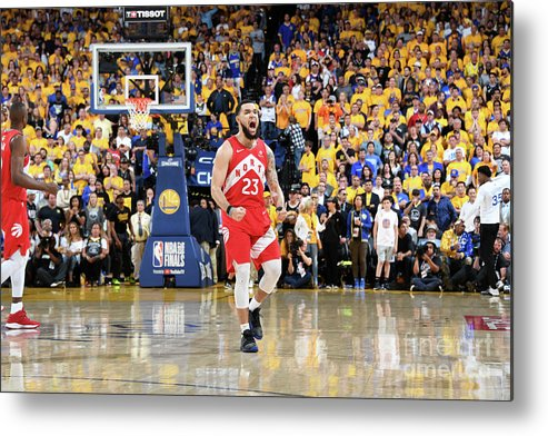 Playoffs Metal Print featuring the photograph Fred Vanvleet by Andrew D. Bernstein