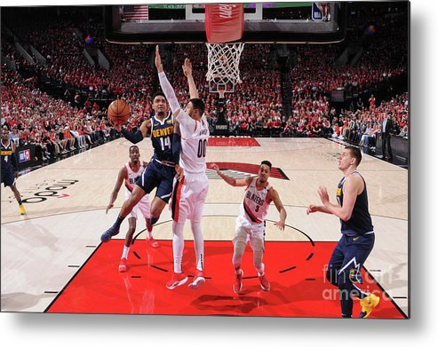 Playoffs Metal Print featuring the photograph Gary Harris by Sam Forencich