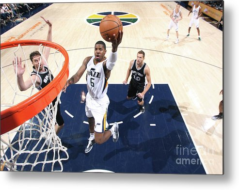 Nba Pro Basketball Metal Print featuring the photograph Joe Johnson by Melissa Majchrzak