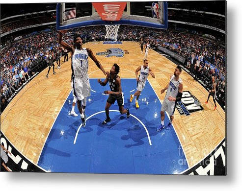 Nba Pro Basketball Metal Print featuring the photograph Jonathan Isaac by Fernando Medina