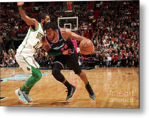 Justise Winslow Metal Print featuring the photograph Justise Winslow by Issac Baldizon