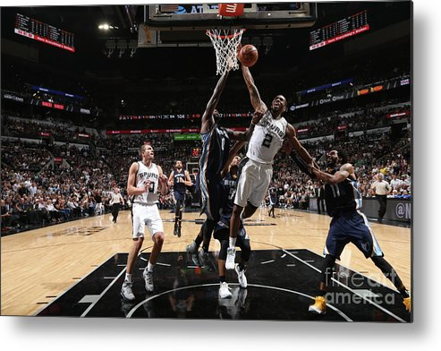 Playoffs Metal Print featuring the photograph Kawhi Leonard by Joe Murphy