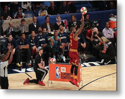 Event Metal Print featuring the photograph Kyrie Irving by Joe Murphy