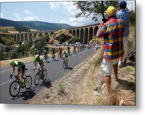 Charente Metal Print featuring the photograph Le Tour de France 2015 - Stage Fifteen by Doug Pensinger
