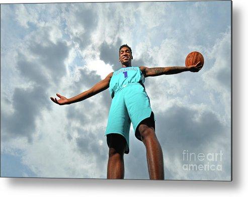 Nba Pro Basketball Metal Print featuring the photograph Malik Monk by Jesse D. Garrabrant