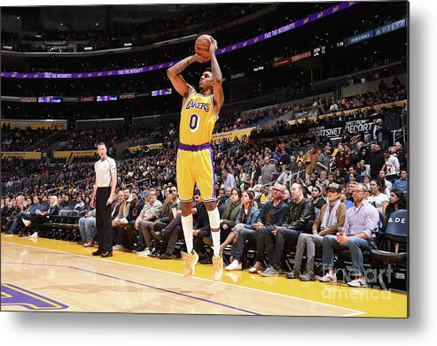 Nba Pro Basketball Metal Print featuring the photograph Nick Young by Andrew D. Bernstein