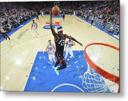 Nba Pro Basketball Metal Print featuring the photograph Pascal Siakam by Jesse D. Garrabrant