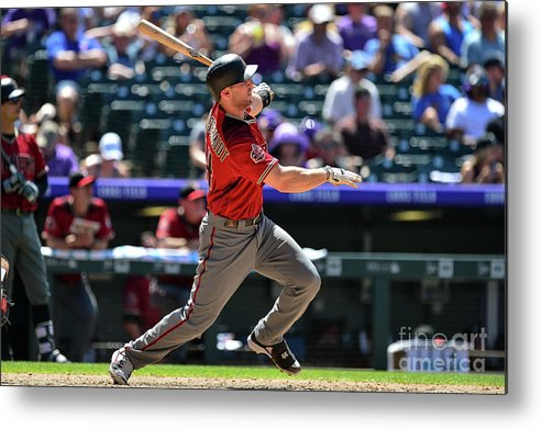 People Metal Print featuring the photograph Paul Goldschmidt by Dustin Bradford