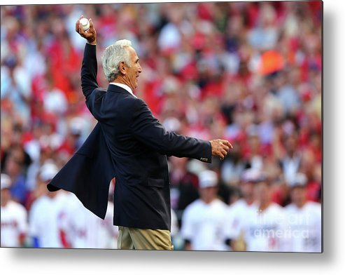 Great American Ball Park Metal Print featuring the photograph Sandy Koufax by Elsa