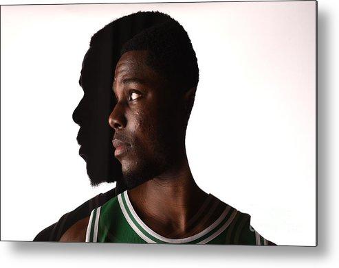 Nba Pro Basketball Metal Print featuring the photograph Semi Ojeleye by Brian Babineau