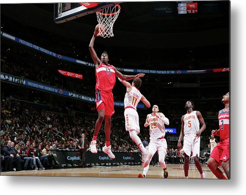 Nba Pro Basketball Metal Print featuring the photograph Thomas Bryant by Ned Dishman