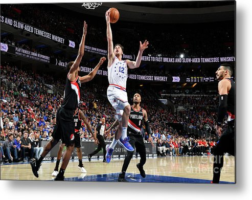 Nba Pro Basketball Metal Print featuring the photograph T.j. Mcconnell by Jesse D. Garrabrant