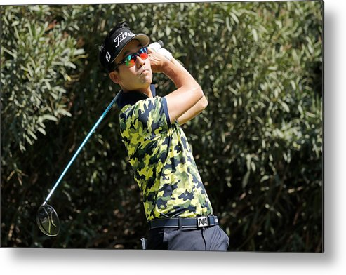Mexico City Metal Print featuring the photograph World Golf Championships-Mexico Championship - Round One by Buda Mendes