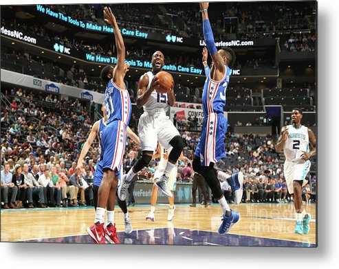 Kemba Walker Metal Print featuring the photograph Kemba Walker by Kent Smith