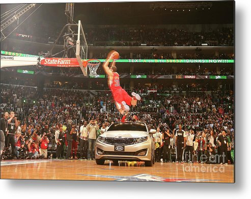 Kia Metal Print featuring the photograph Blake Griffin by Nathaniel S. Butler
