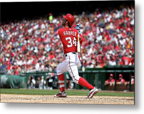 People Metal Print featuring the photograph Bryce Harper by Patrick Smith