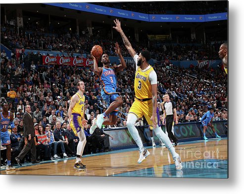 Nba Pro Basketball Metal Print featuring the photograph Chris Paul by Joe Murphy