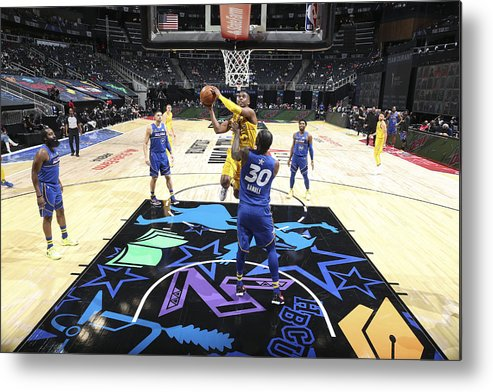 Atlanta Metal Print featuring the photograph Chris Paul by Nathaniel S. Butler