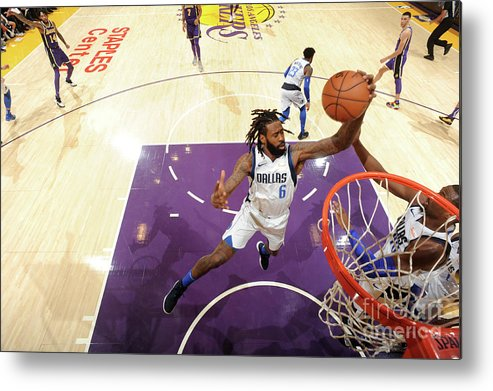 Nba Pro Basketball Metal Print featuring the photograph Deandre Jordan by Juan Ocampo