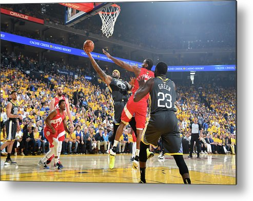 Playoffs Metal Print featuring the photograph Demarcus Cousins by Andrew D. Bernstein