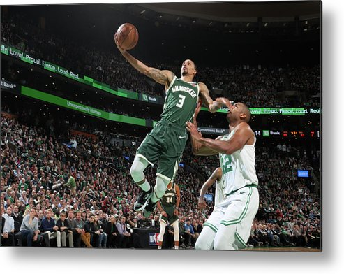 Playoffs Metal Print featuring the photograph George Hill by Nathaniel S. Butler