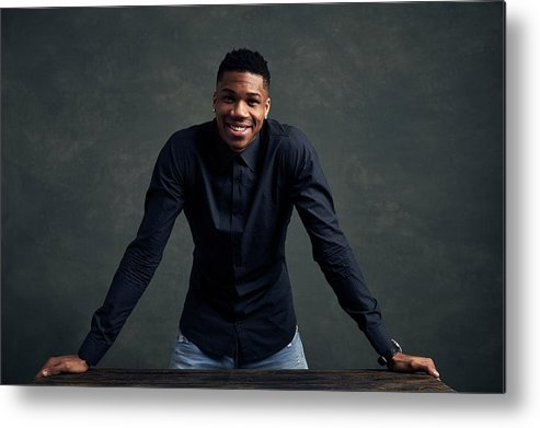 Event Metal Print featuring the photograph Giannis Antetokounmpo by Jennifer Pottheiser