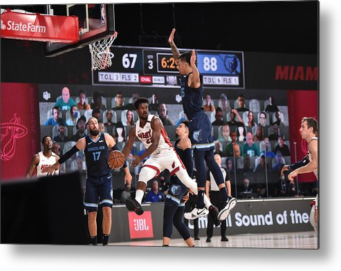Nba Pro Basketball Metal Print featuring the photograph Jimmy Butler by David Dow