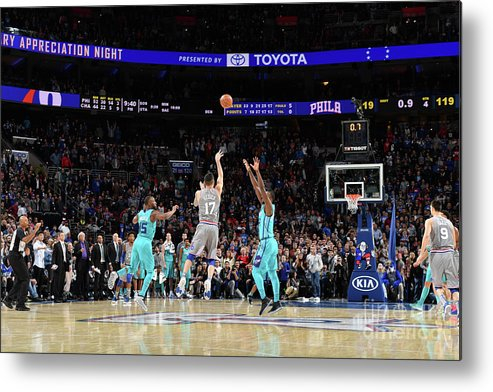 Nba Pro Basketball Metal Print featuring the photograph J.j. Redick by Jesse D. Garrabrant