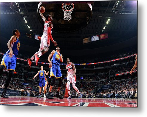 Nba Pro Basketball Metal Print featuring the photograph John Wall by Jesse D. Garrabrant