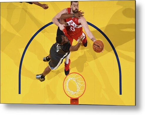 Playoffs Metal Print featuring the photograph Marc Gasol by Andrew D. Bernstein