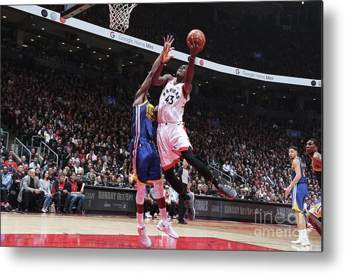 Playoffs Metal Print featuring the photograph Pascal Siakam by Nathaniel S. Butler