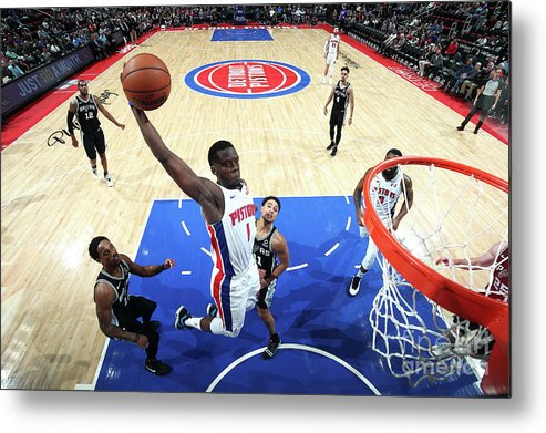 Nba Pro Basketball Metal Print featuring the photograph Reggie Jackson by Brian Sevald