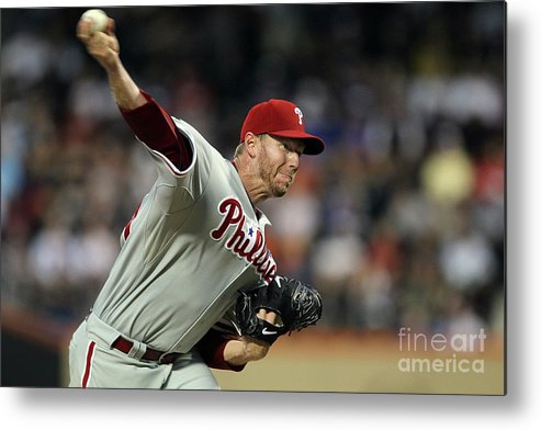 Residential District Metal Print featuring the photograph Roy Halladay by Jim Mcisaac