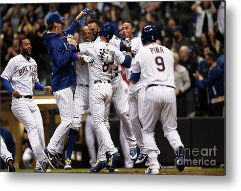 People Metal Print featuring the photograph Ryan Braun by Stacy Revere
