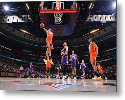 Nba Pro Basketball Metal Print featuring the photograph 2020 NBA All-Star - Rising Stars Game by Jesse D. Garrabrant